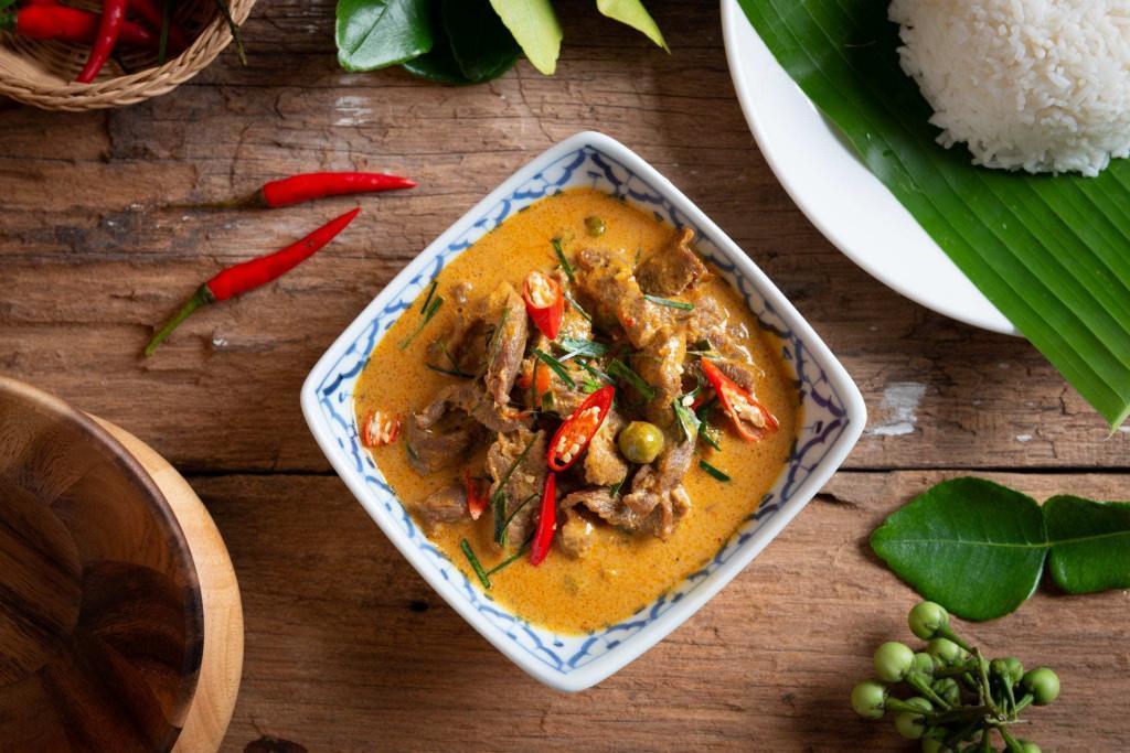 Massaman-style curry